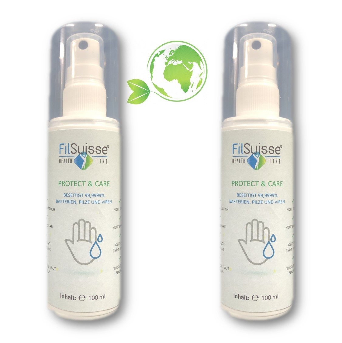 Protect & Care Green 2er Pack